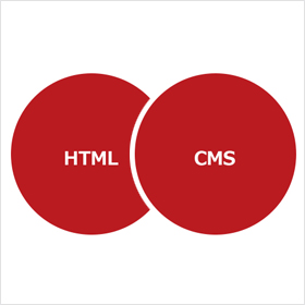 HTMLとCMSの仕組みの違い
